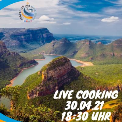 Olaf kocht live aus Südafrika